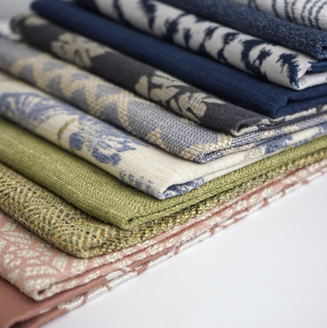 JF Fabrics showroom