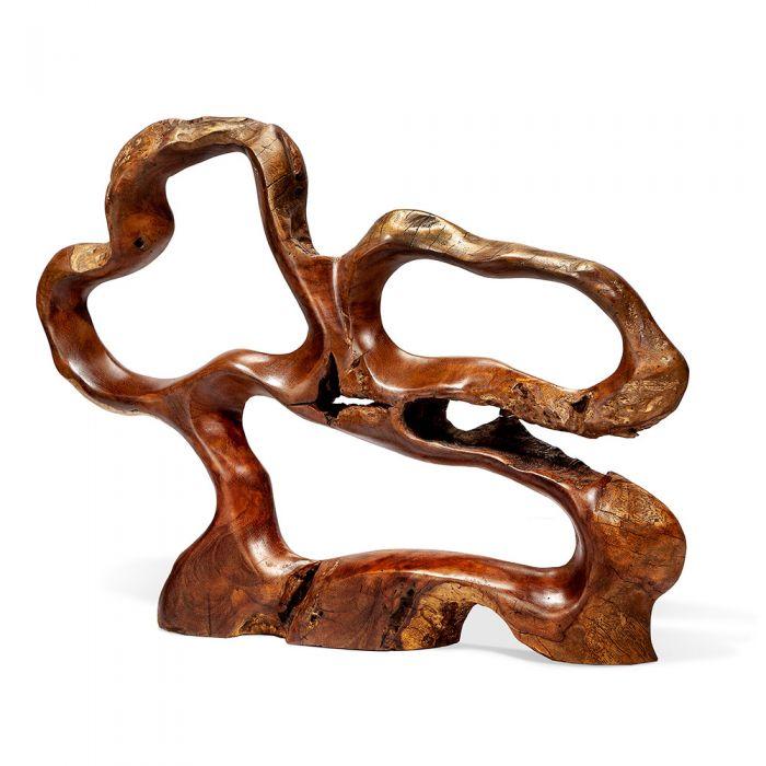 Burstyn teak root sculpture